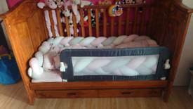 Cot bed + mattress