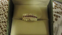 BEAUTIFUL STERLING SILVER PLATED RING NEW