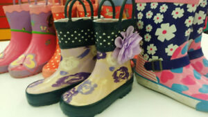 (12) Rain Boots for girls from $6