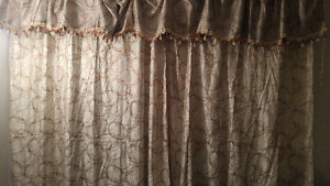 Brand New Deep & Heavy Curtains for large windows