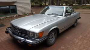 1985 Merceds 380 SL in excellent condition