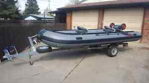 2013 seamax Hd470 inflatable boat