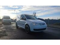 "VOLKSWAGEN CADDY 69PS SDi BRILLIANT WHITE 2010 ""60"" REG 92,000 MILES FSH 1 OWNER"