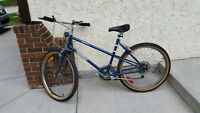 "12 speed Mountain tour classic bike 18"" frame, good running cond"