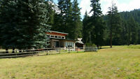 Private Acreage, minutes from Sun Peaks and Kamloops