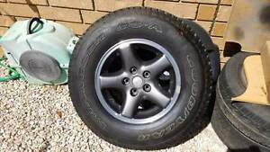 1x Jeep Wrangler 04' spare tyre and cover Salisbury Salisbury Area Preview