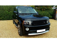 """SOLD"" LHD 2007 Land Rover Range Rover Sport3.6TD V8 auto4X4 HSE LEFT HAND DRIVE"