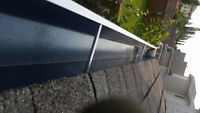 Window washing eaves trough cleaning