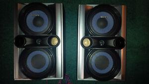Sony SS-EC78 Stereo Audio Shelf Speakers Pair