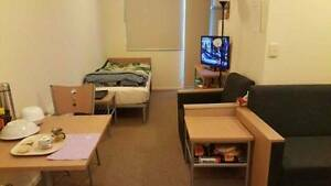 *Fully furnished double bed apartment @ college square swanston Carlton Melbourne City Preview