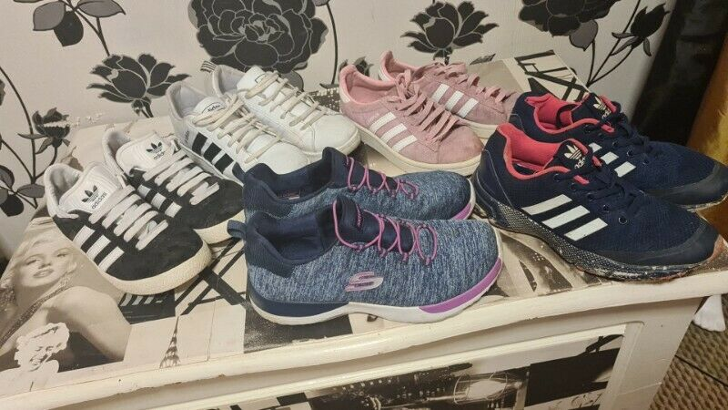 5 pairs of Trainers Size 5