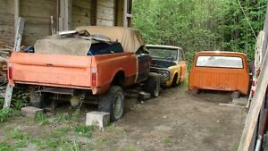 1970 Chev 4x4 Shortbox Fleetside Project Truck