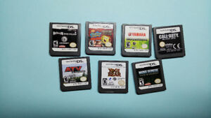 Nintendo DS game lot