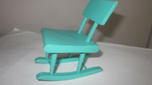 1970's Barbie and Skipper Size Rocking Chair