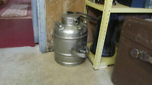 Stainless Steel Thermos (very large)