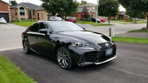 Amazing condition 2017 Lexus IS350 AWD F-sport fully loaded