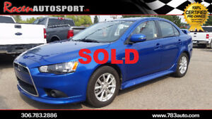 SOLD!!!  CERTIFIED 2015 LANCER - 46K - REMOTE START - YORKTON