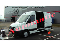 2012 MERCEDES-BENZ SPRINTER AUTOMATIC 2.1TD 313CDI MWB H/ROOF WHITE DIESEL VAN