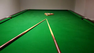 Snooker table and all the fix'ins (including the light)