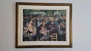Tableau-Peinture copie de Renoir/Painting copie of Renoir