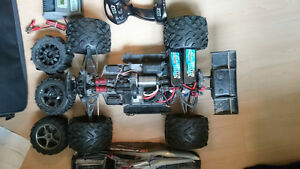 E-REVO brushless edition/ lipo batteries/ sets of tires
