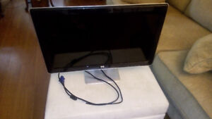 """HP 2310M 23"""" WIDESCREEN LCD MONITOR with BUILD-IN SPEAKES!!"""