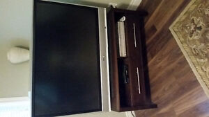 52 inch Panasonic TV with Stand