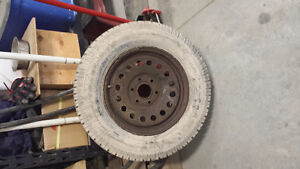 Chevrolet winter tires and rims