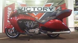 2015 Victory Vision Tour Sunset Red with Black Pinstripe