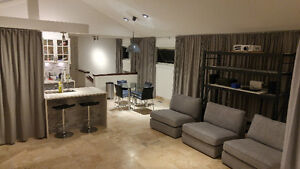 Furnished large bedroom with private full bathroom. Last Room!