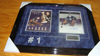 Johnny Bower framed autographed pictures