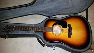 Simon and Patrick 12 string Songsmith W/Hardshell case