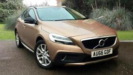 Volvo V40 2.0 D2 DIESEL Cross Country Pro Auto 5 Door Hatch Copper 2016
