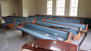 Beautiful Almost New Pews, 3 left out of 12