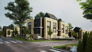 Projet de maisons neuves Urbanova à Terrebonne