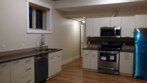Furnished Two Bedroom apartment with parking