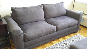 Beautiful queen size sofa bed, excellent condition, down filled