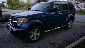 2009 Dodge Nitro SLT 4x4 with low KM's and Extras