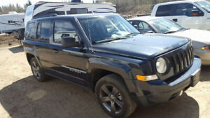 2015 Jeep Patriot - High Altitude - lightly used - 78,000kms