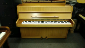 Small compact German overstrung piano