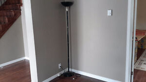 6 ft green floor lamp in great condition