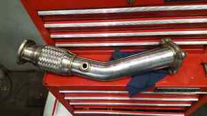 Volks down pipe stainless steel