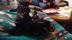 2xs sports size 8 rollerblades