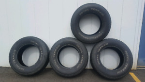 (4) 265/70R17 Motomaster Total Terrain Tires