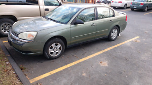 2005 Chevy Malibu $300