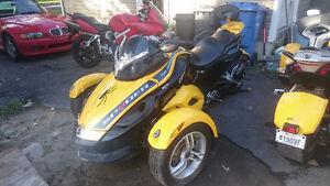 Can am Spyder GS 2008