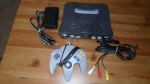 N64 NINTENDO 64 SYSTEM – COMPLETE – EXCELLENT WORKING CONDITION