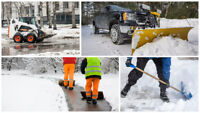 SNOW PLOWING & SALTING EXPERTS- **COMMERCIAL**INDUSTRIAL**