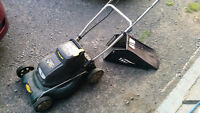 "18"" Cordless  self propelled electric mower"