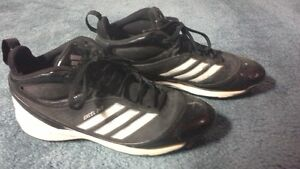 Men's Addidas Metal Cleats Size 9.5